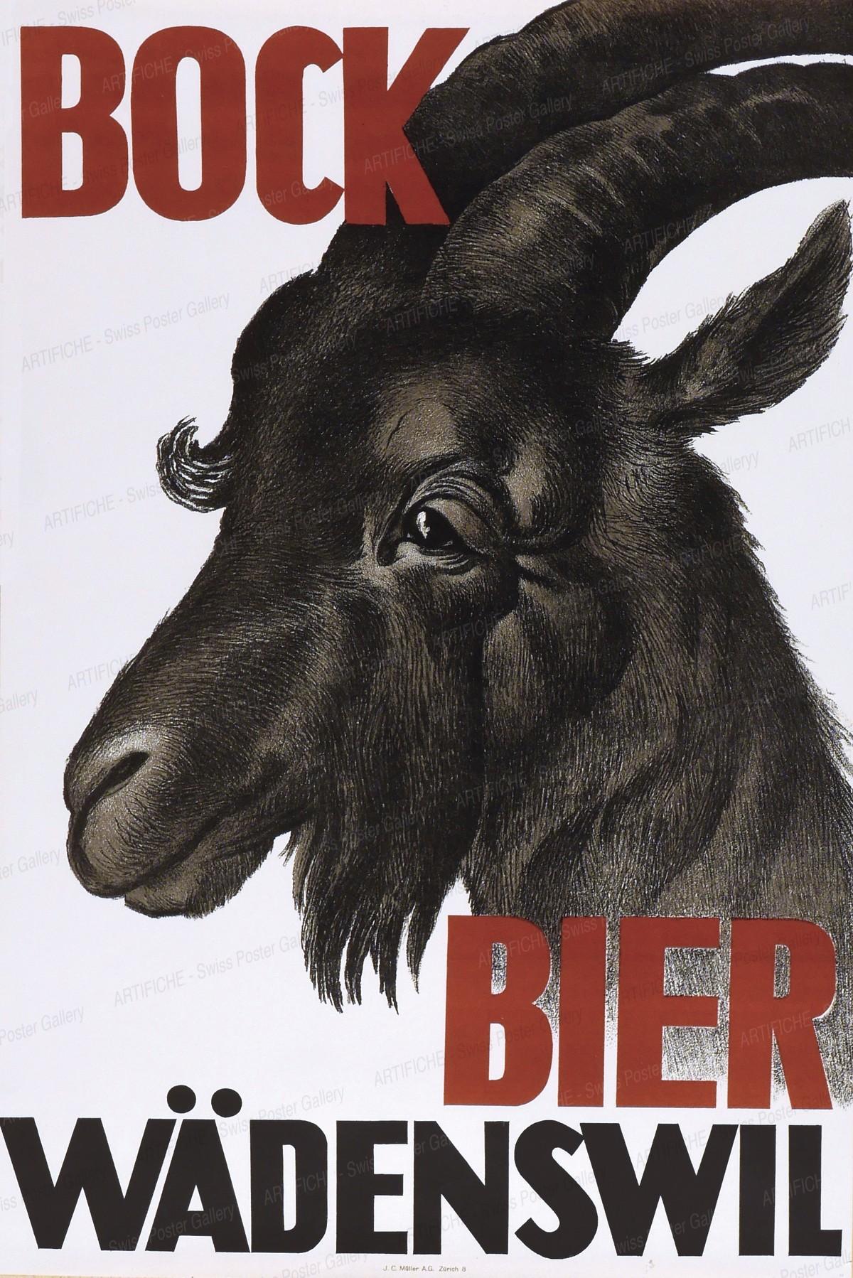 Wädenswiler Bock Bier, Artist unknown