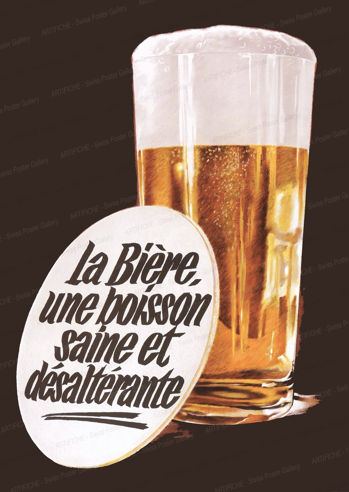 La Bière, une boisson saine et désalterante, Alfred Koella