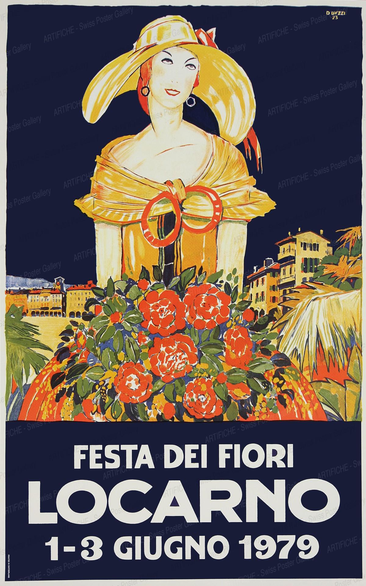 Festa dei Fiori LOCARNO 1-3 giugno 1979, Daniele Buzzi