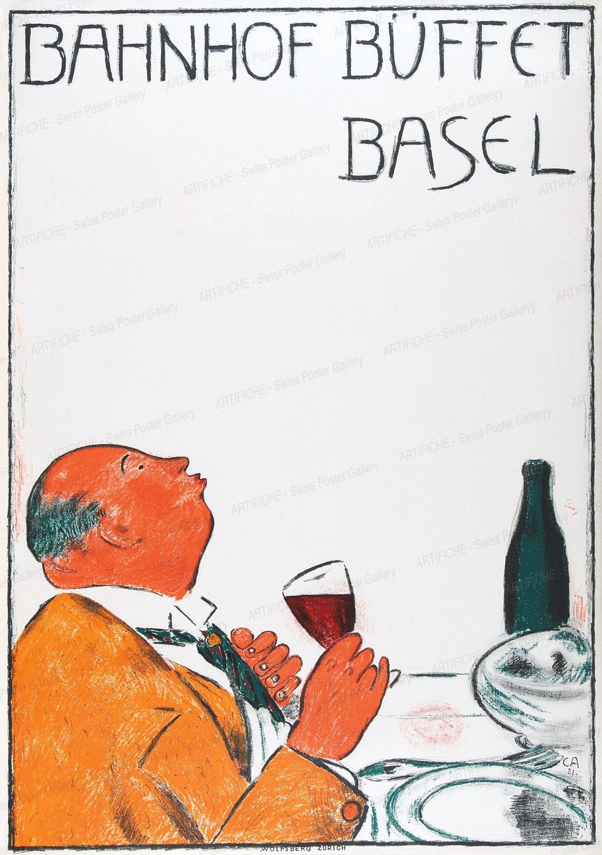 BAHNHOF BÜFFET BASEL, Cuno Amiet