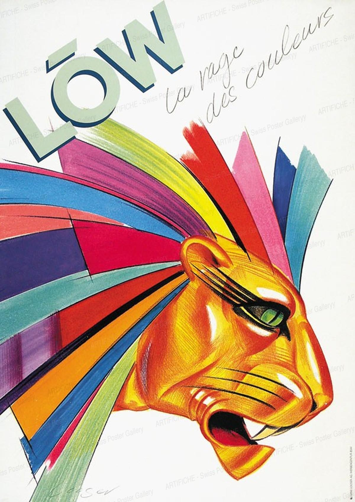 LÖW – la rage des couleurs, Hans Looser
