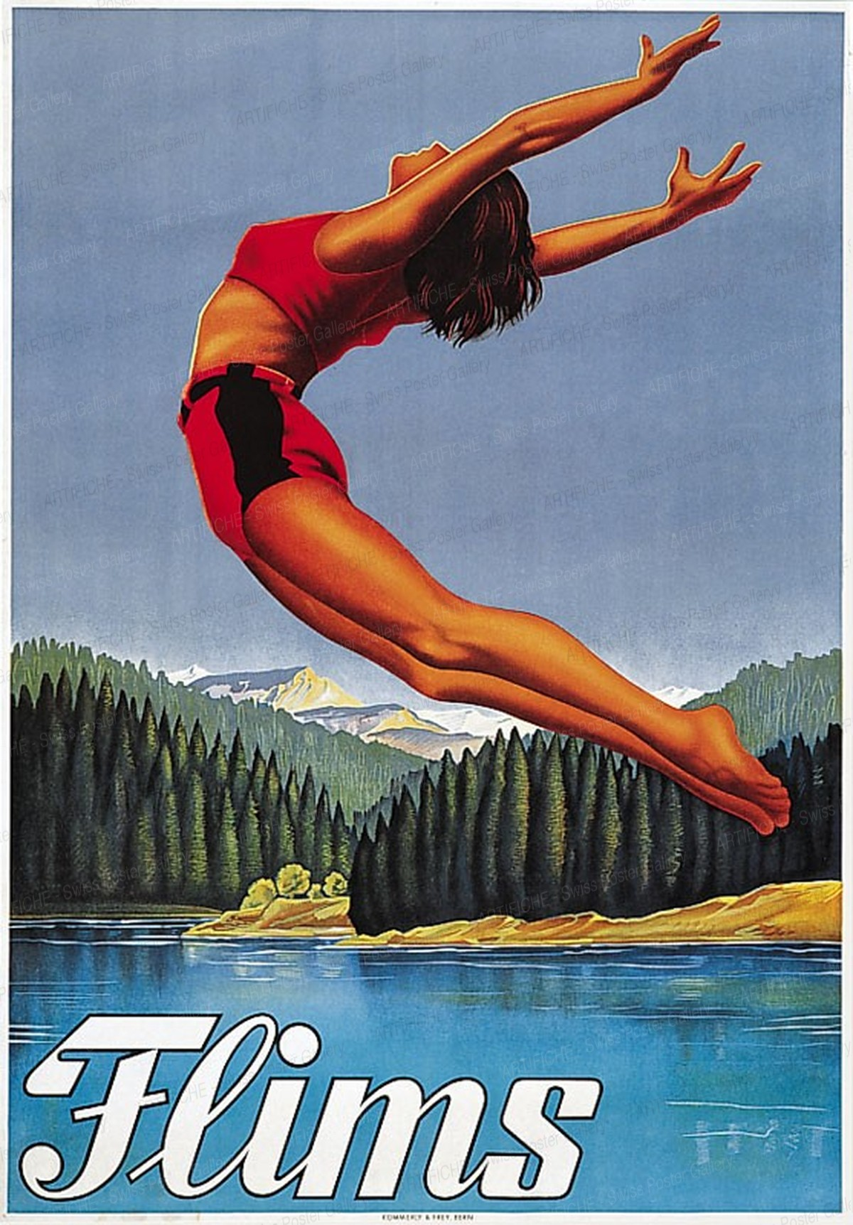 Flims Schweiz, Jules Geiger