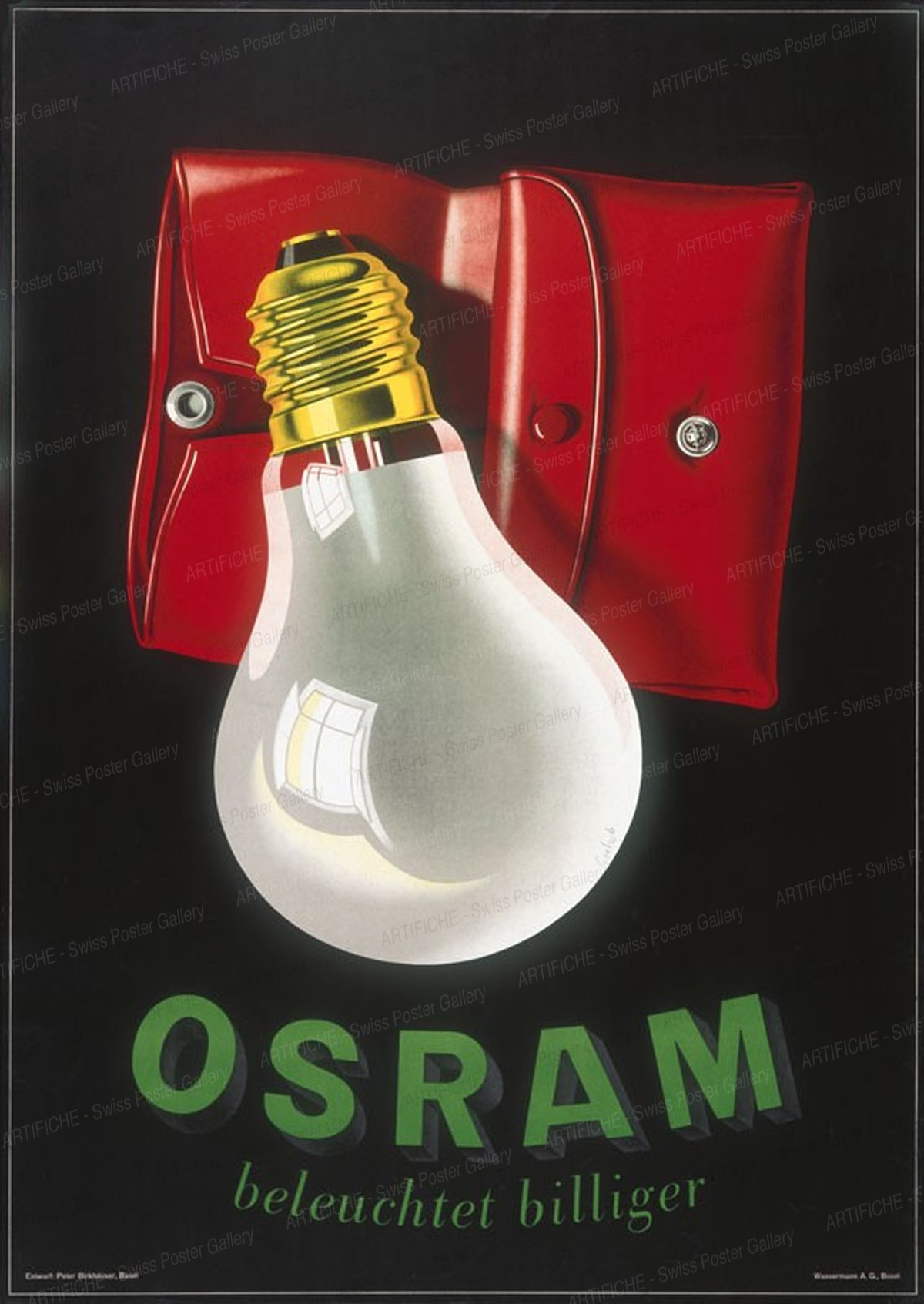 OSRAM beleuchtet billiger, Peter Birkhäuser