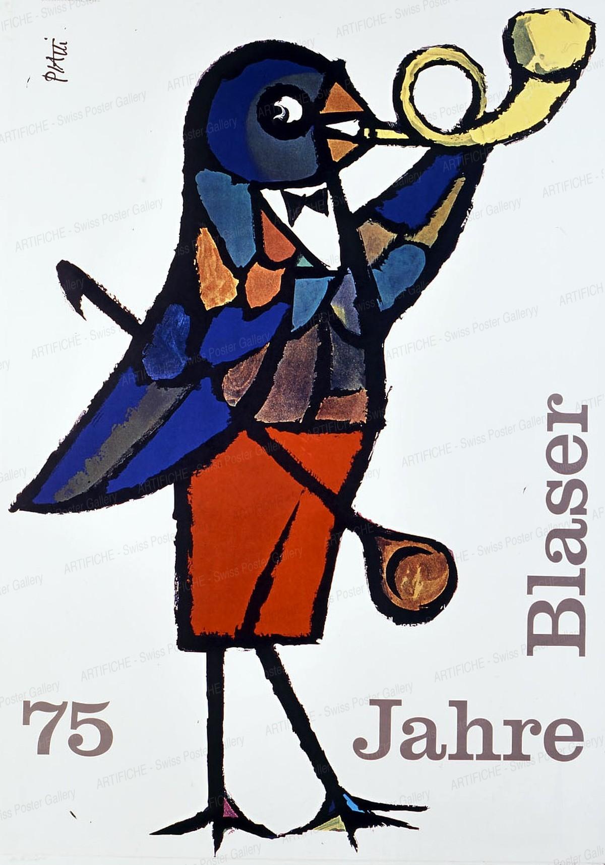 75 Jahre Blaser, Celestino Piatti