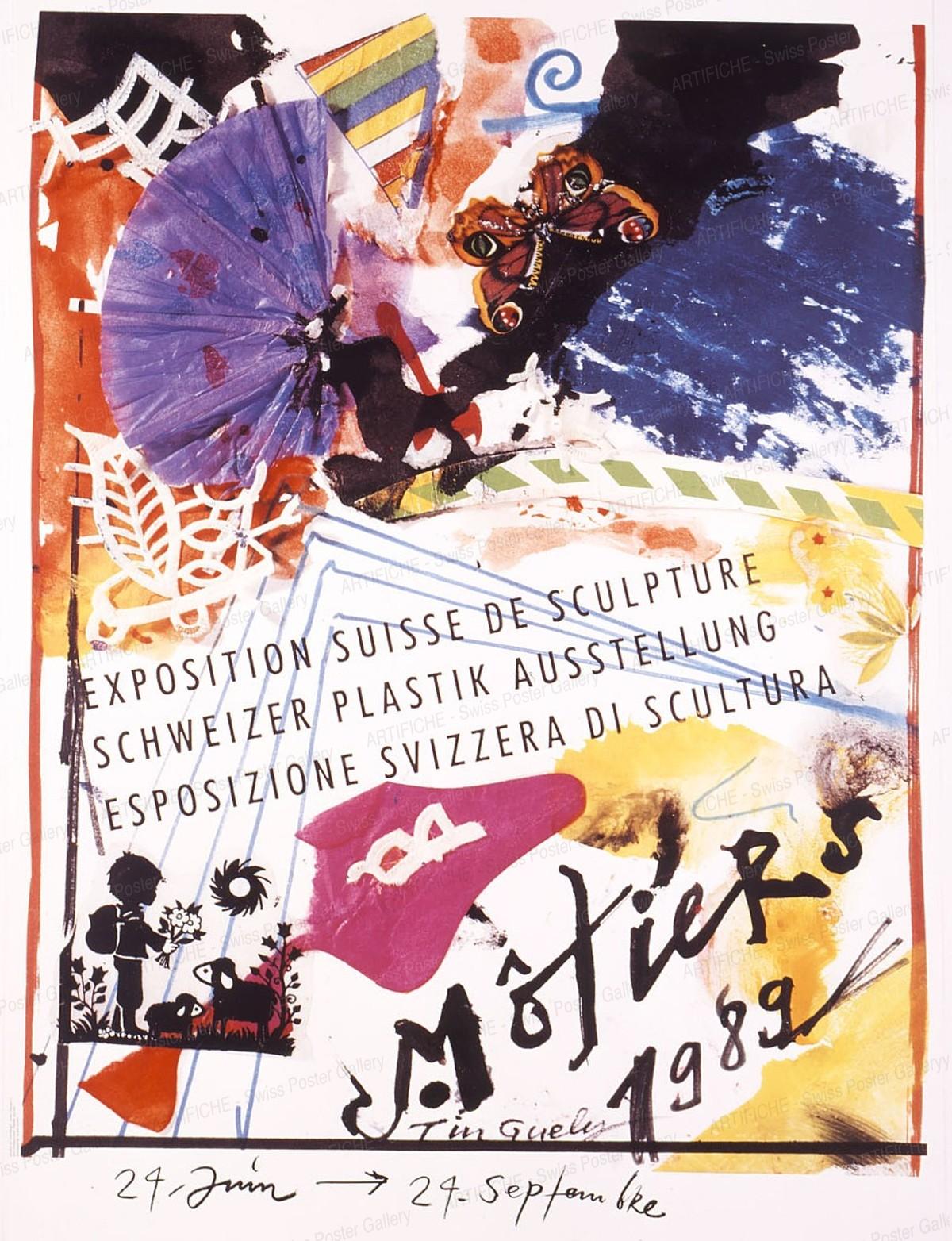 Exposition Suisse de Sculpture – Schweizer Plastik Ausstellung – Esposizione Svizzera di Scultura – Motiers 1989, Jean Tinguely