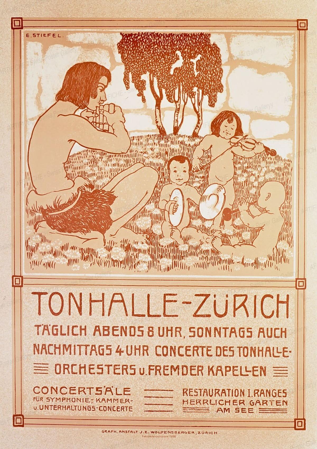 Tonhalle Zürich (Reprint), Edouard Stiefel