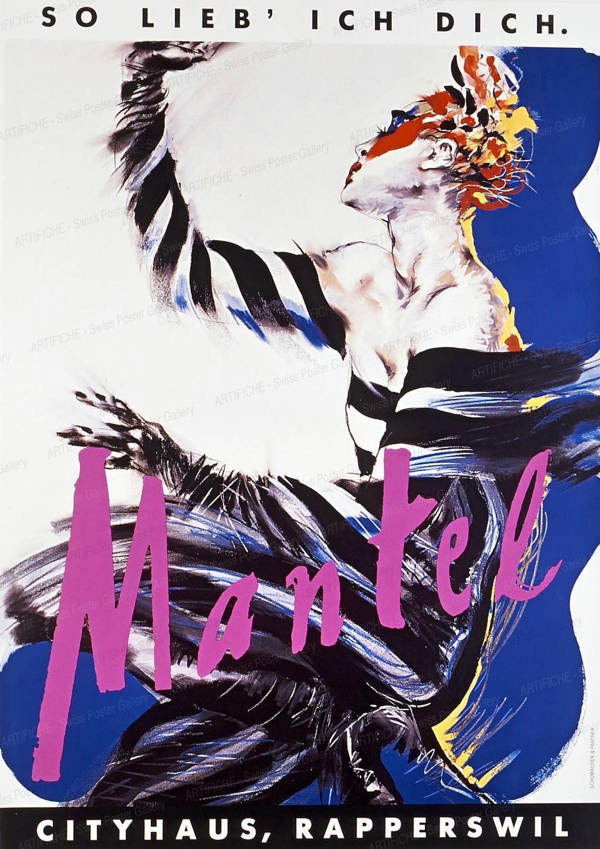 Cityhaus Mantel Fashion Store. That's the way I love you., Hélène Mayéra