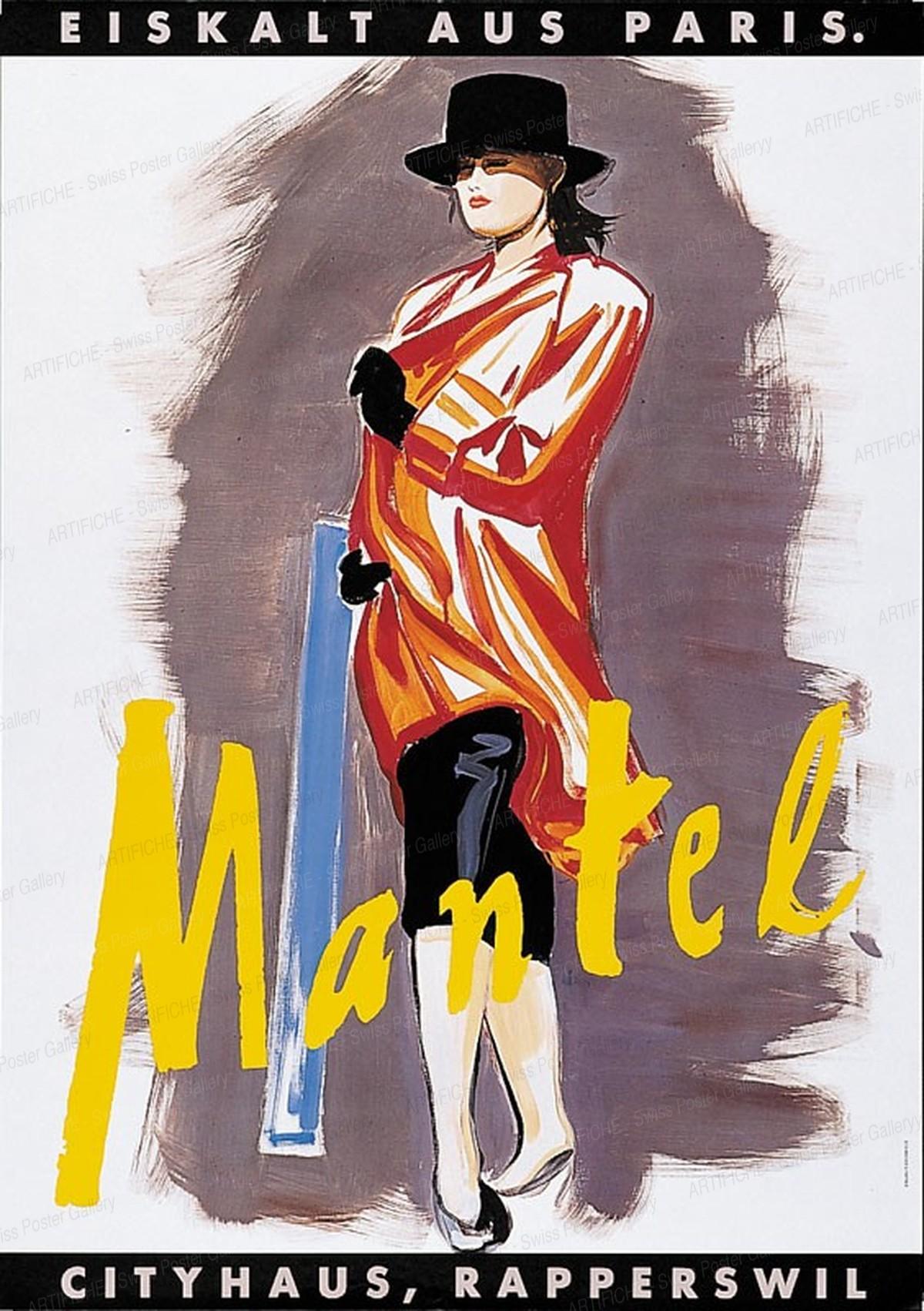Cityhaus Mantel Fashion Store. Freezing from Paris., Rémy Fabrikant