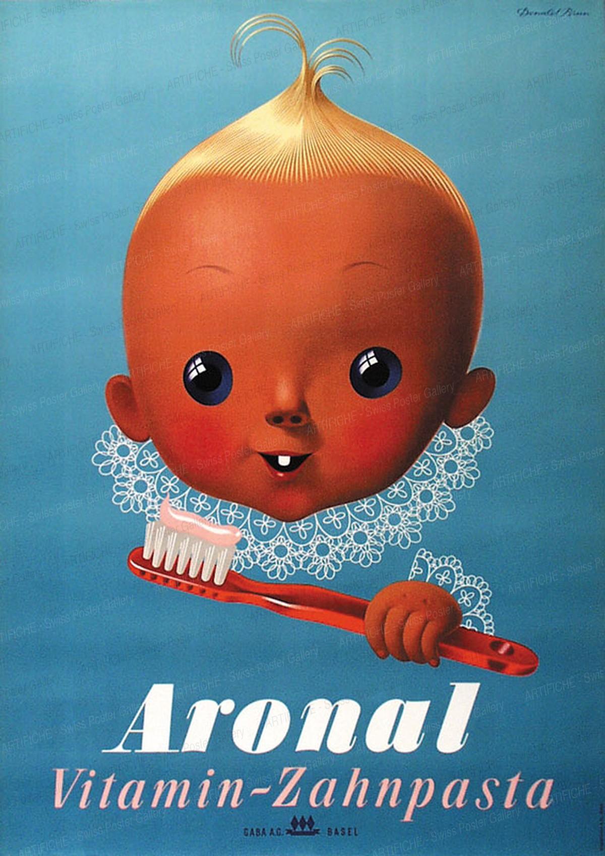 Aronal – Vitamin – Zahnpasta, Donald Brun