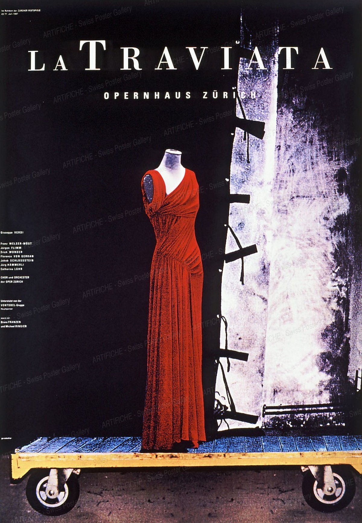 Opernhaus Zürich – La Traviata, K. Domenic Geissbühler