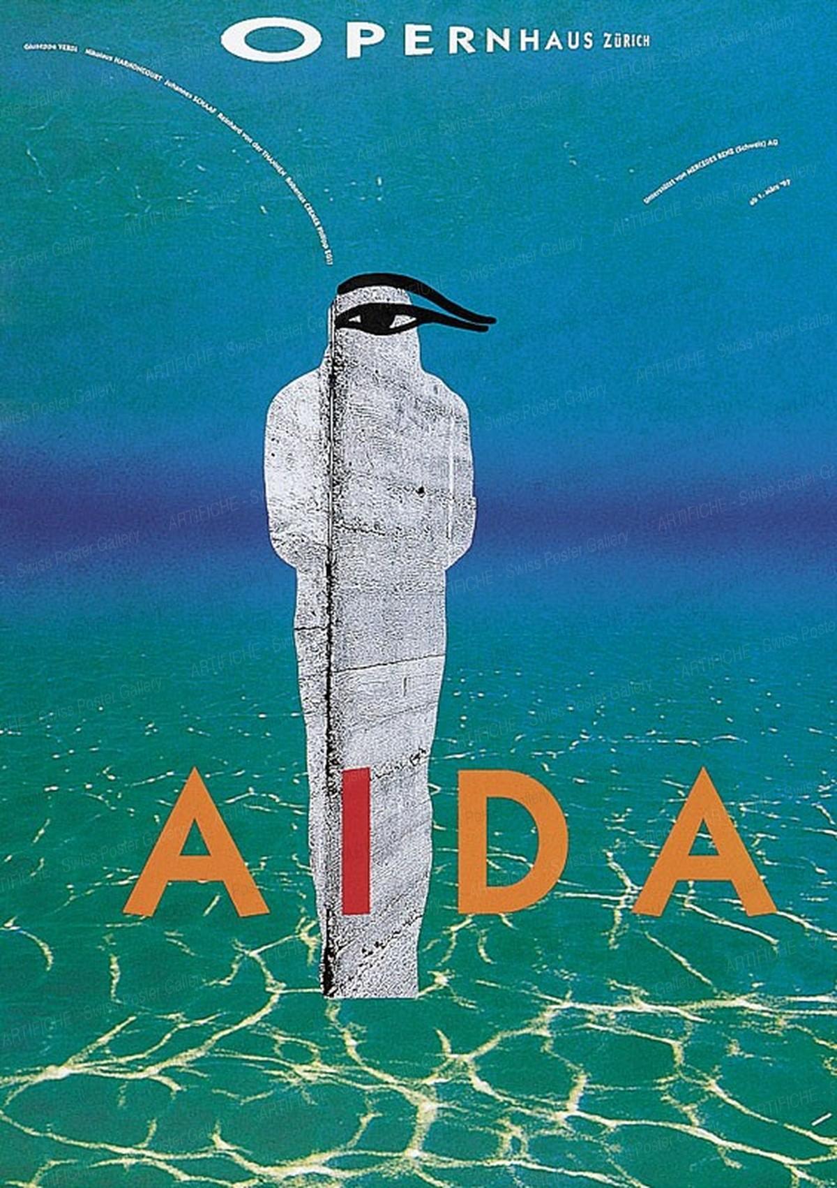 Opernhaus Zürich – Aida, K. Domenic Geissbühler