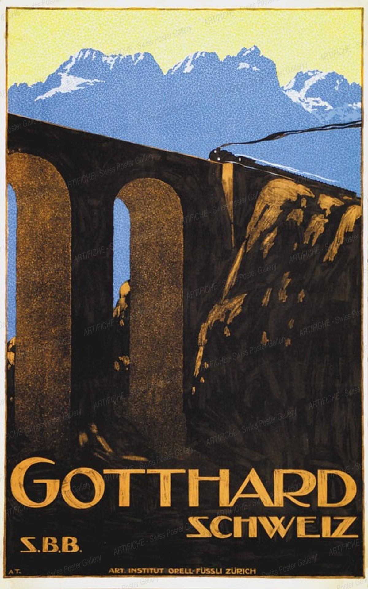 GOTTHARD – Schweiz – S.B.B., Anton Trieb