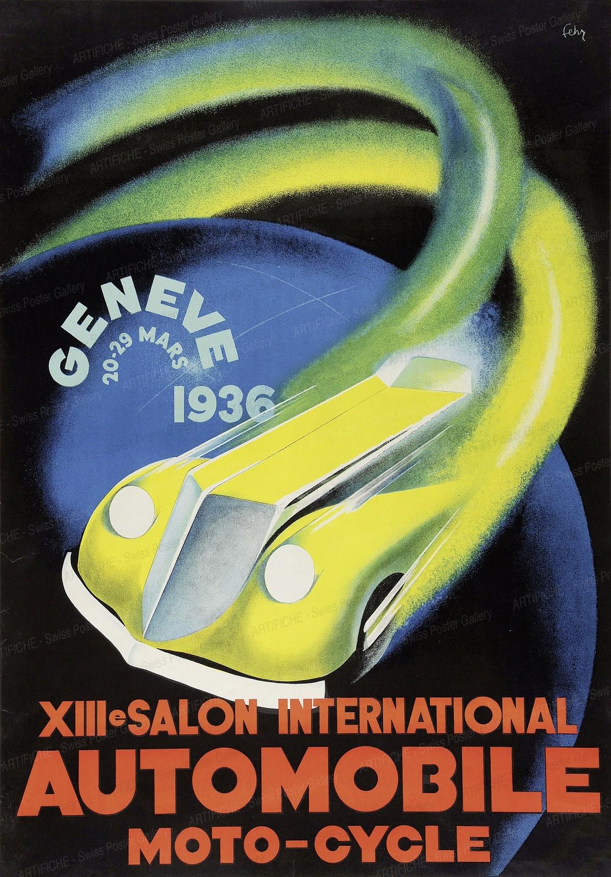 XIIIe Salon International AUTOMOBILE MOTO-CYCLE, Henri Fehr