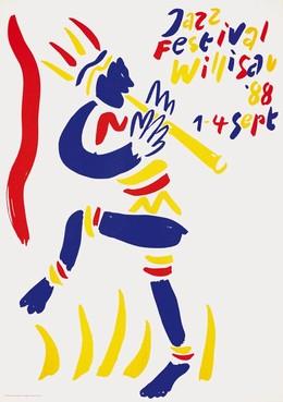 Jazz Festival Willisau '88, Niklaus Troxler