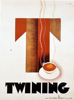 """Twining – Editions """"les belles affiches"""" (Reprint), Loupot, Charles Honoré , d'après"""