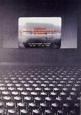 Vingtième journées cinématographique de Soleure – 20. Solothurner Filmtage, Ernst Matiello