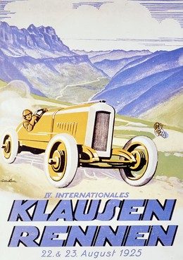 IV. Internationales Klausen-Rennen 1925 (Offset-Reprint), Eric de Coulon
