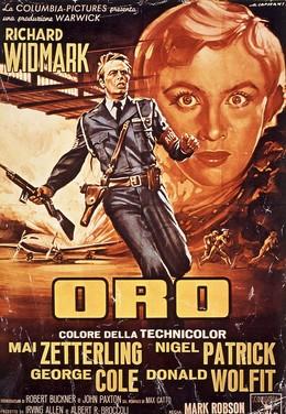 "Film ""ORO"" – Capitani – Richard Widmark – by Albert R. Brokkoli, Artist unknown"