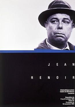Cinémathèque Suisse – Jean Renoir – Exposition 1984, Werner Jeker