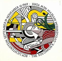 THE SOLOMON R. GUGGENHEIM MUSEUM NEW YORK – September 19 – November 16 1969, Roy Lichtenstein