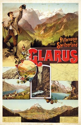 Pittoresque Switzerland – GLARUS, P. Balzer