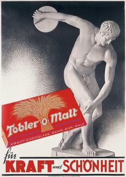 Tobler-o-Malt – Kraft und Schönheit, Artist unknown
