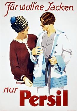 Persil – Für woll'ne Jacken nur Persil, Ludwig Hohlwein