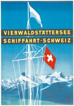 VIERWALDSTÄTTERSEE – SCHIFFAHRT – SCHWEIZ, Otto Baumberger