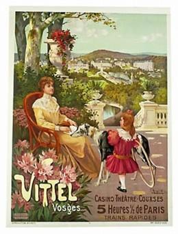 Vittel, Vosges – Casino, Théâtre, Hugo F. D'Alési