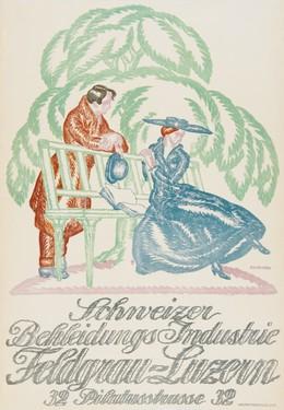 Schweizer Bekleidungsindustrie, Feldgrau Luzern, Eduard Renggli