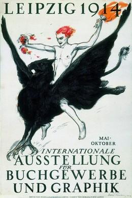 LEIPZIG 1914 – Internationale Ausstellung für Buchgewerbe & Grafik, Walter Tiemann