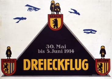 Dreieckflug Berlin-Leipzig-Dresden, Julius Klingler