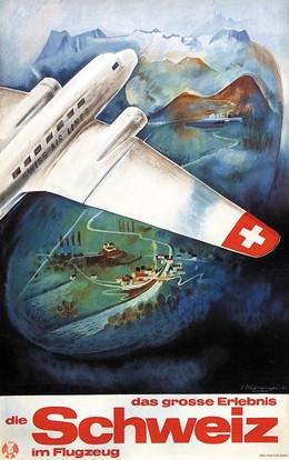 Das grosse Erlebnis – Die Schweiz im Flugzeug – Swiss Air Line, Eugen Häfelfinger