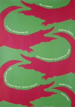 Jazz Willisau – Ray Anderson Alligatory Band, Niklaus Troxler