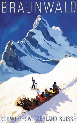 BRAUNWALD – SCHWEIZ – SWITZERLAND – SUISSE, Alex Walter Diggelmann