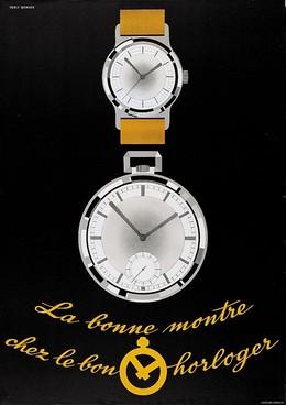 La bonne montre – chez le bon horloger, Percy Wenger
