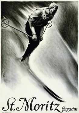 St. Moritz Engadin, Carl Franz Moos