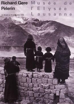 Musée de l'Elysée Lausanne – Tibet – Richard Gere – Pélerin, Richard - Photo: Pèlerin Gere