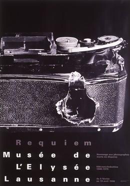 """Musée de l'Elysée Lausanne – Requiem """"Vietnam/Indochine"""" Hommage aux photographes morts et disparus, Werner Jeker"""