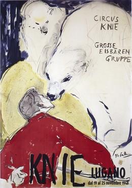 CIRCUS KNIE 1948 – Lugano, Hans Falk