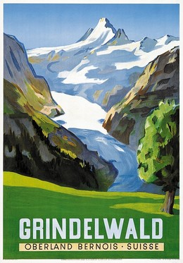 GRINDELWALD OBERLAND BERNOIS – SUISSE, Hans Jegerlehner