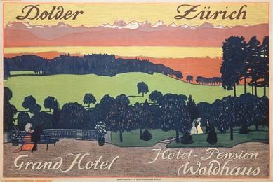 Dolder Zürich – Grand Hotel – Hotel-Pension Waldhaus, Emil Cardinaux