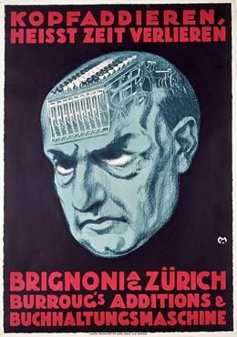 Brignoni Zürich – Buchhaltungsmaschinen, Carl Franz Moos