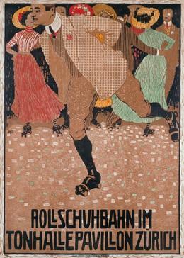 Rollschuhbahn im Tonhalle-Pavillon Zürich, Burkhard Mangold