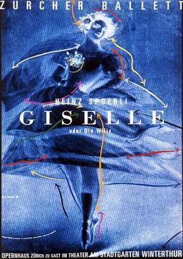 """Zurich Opera House – Zurich Ballet """"Giselle"""", K. Domenic Geissbühler"""