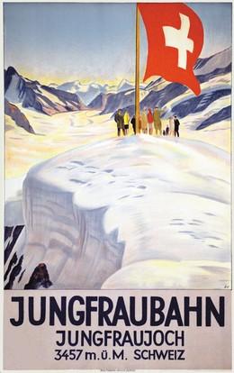 JUNGFRAUBAHN – JUNGFRAUJOCH 3457 m. ü. M., Emil Cardinaux