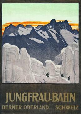 JUNGFRAU-BAHN – BERNER OBERLAND SCHWEIZ, Emil Cardinaux