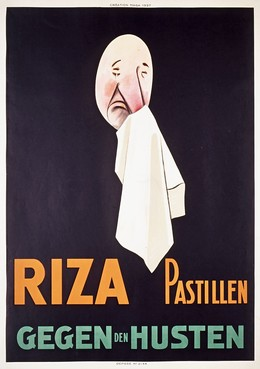 Riza Pastillen – gegen Husten, Magagnoli, Giuseppe (MAGA, 1878-1933)