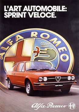 Alfa Romeo – L'Art Automobile: Sprint Veloce, D'Arcy Mac Manus