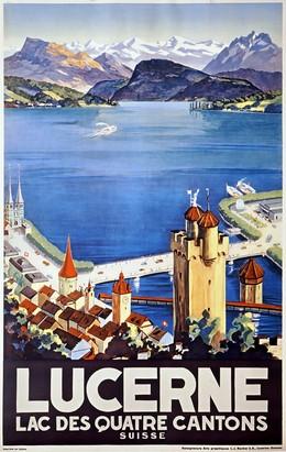 LUCERNE – Lac des quatre cantons – Suisse, Otto Landolt